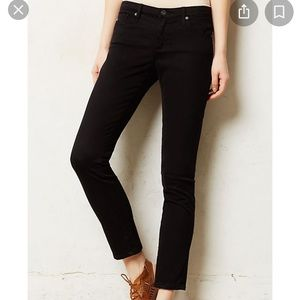 Anthropologie Adriano Goldschmied black pants